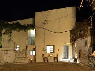 traditional cretan house near paleochora