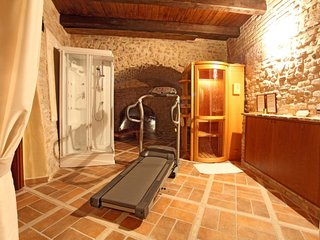 Medieval Fortress with Pool, Sauna - Fitness room - at 5 km from the beach