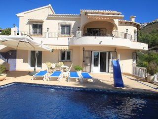 Geraldo - sea view villa with private pool in Benitachell