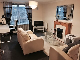Royal Mile 2 Double Bedroom Modern Apartment plus Free Parking