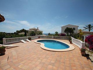El Descanso - sea view villa with private pool in Benissa