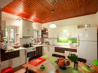 Colorful maisonette near the Sea, Galatas