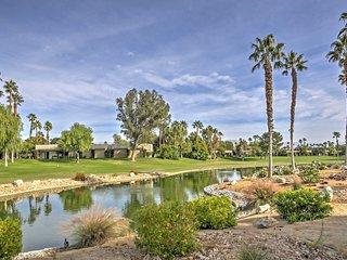 NEW! Lovely 2BR Palm Springs Villa w/ Fireplace!