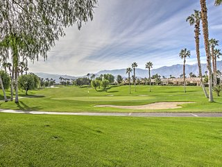 NEW! 2BR Palm Springs Area Villa w/ Pool Access!