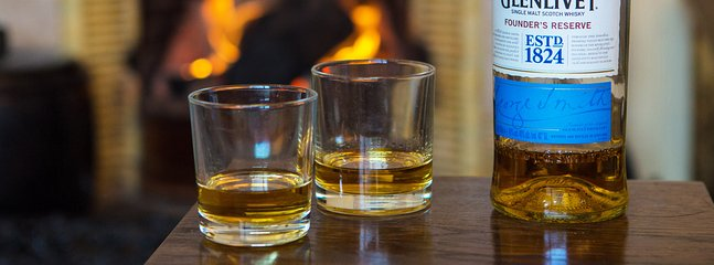 Have a dram at the fire