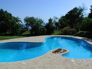 Luxury lakefront villa near Rome, private pool (salt, no chlorine), private park, Trevignano Romano