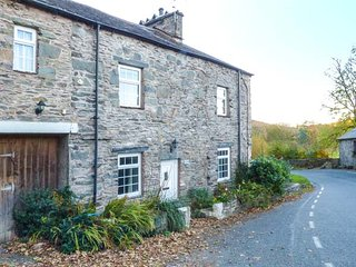 DUDDON COTTAGE, period features, woodland gardens, woodburner in