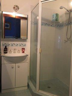 Master bedroom ensuite provides a shower, vanity & toilet
