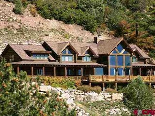 Quintessential Durango Colorado Log Home With Million-Dollar Views