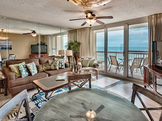 Pelican Beach 11th floor remodelled 1 bedroom - Superb Ocean views -on the beach