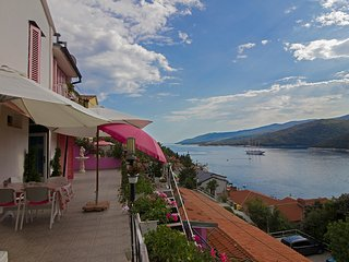Gorgeous sea view,1pet welcome,WiFi 18, Rabac