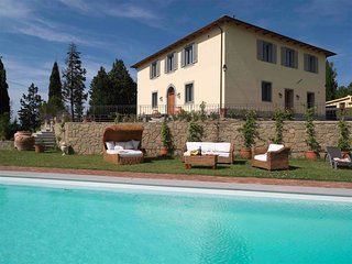 9 bedroom Villa in Certaldo, Tuscany, Italy : ref 5336596