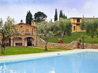 6 bedroom Villa in Lucignano, Tuscany, Italy : ref 5336620