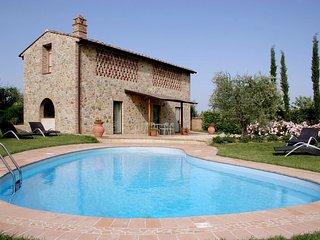 3 bedroom Villa in Camporbiano, Tuscany, Italy : ref 5336627
