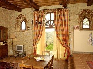 2 bedroom Apartment in Camporbiano, Tuscany, Italy : ref 5336628