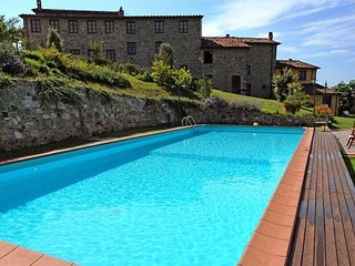 4 bedroom Apartment in Corte Tognetti, Tuscany, Italy : ref 5336633