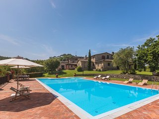 4 bedroom Villa in Pontelungo, Tuscany, Italy - 5336689