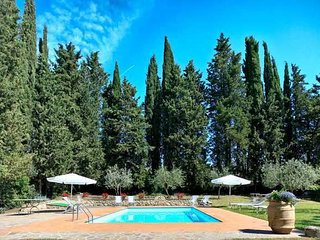 7 bedroom Villa in La Gruccia, Tuscany, Italy : ref 5336589