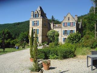 Chateau du Besset, 7 appartementen en 3 kamers in authentiek kasteel, zwembad