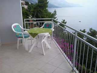 Apartments Rokica - One Bedroom Apartment with Terrace and Sea View