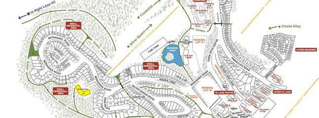 Lageplan - Grandview gelb markiert