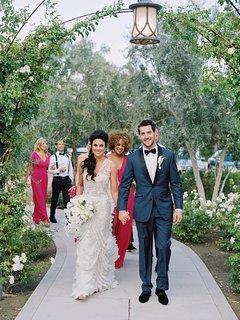 Grant and Nadia on Walkway