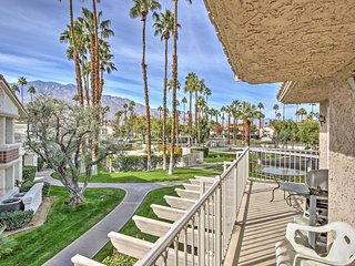 NEW! 2BR Palm Springs Condo w/ Mountain Views!