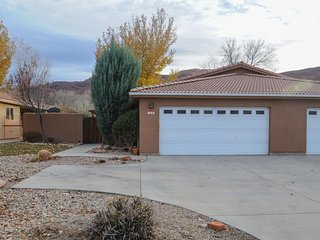 A community pool and private pool await from this dog-friendly home!, Moab