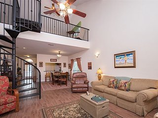 Colorful 2BR, 2BA Perdido Key Villa w/ Private Beach Access, Pool and Spa