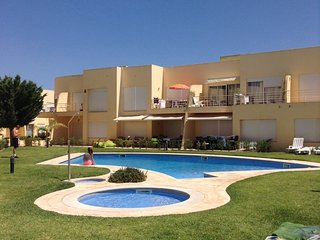 A very quiet area of vilamoura with shared pool in a private condominium.