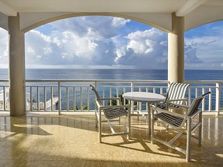 Absolutely stunning views!  Amazing 4 Bdrm Oceanfront Condo (EC5AS)