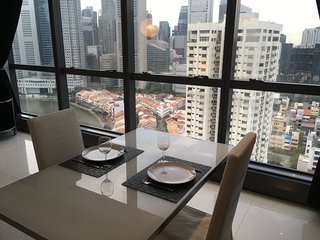 Chic Apartment @ Boat Quay & Clark Quay
