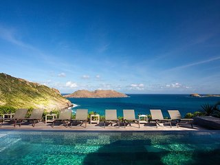 Luxury 7 bedroom St. Barts villa. Fabulous view!, Anse des Cayes