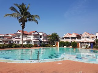Pool view Apartment, Benaulim