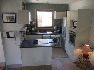 Maison cosy et contemporaine de 40 m2, vue sur le pic des 3 Seigneurs.