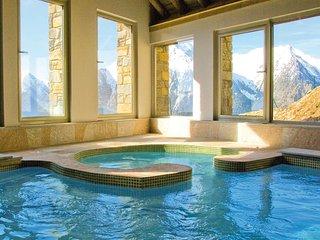Bel appt **** sur les pistes, piscine, hammam, sauna.....