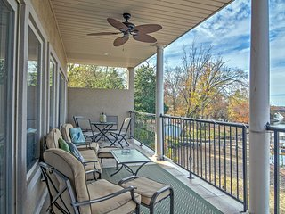 Lakefront Hot Springs Condo w/Private Patio