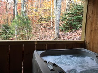 Hanky Panky!- Private Hot Tub, Fireplace, Romantic, Secluded View, Free WiFi