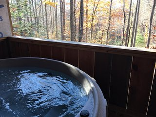 Nice hot tub with a great view!