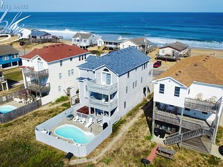 Guaranteed Fun: 7 BR / 4.1 BA seven bedroom house in Kitty Hawk, Sleeps 15