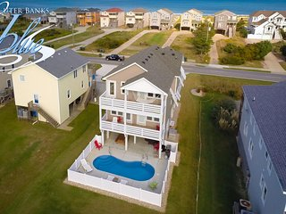 Toes in the Water | 600 ft from the beach | Private Pool, Hot Tub | Nags Head