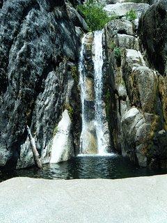 Chilnualna Falls - A 15 minute walk from the cabin to the trailhead