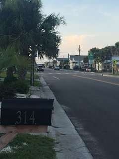Downtown Kure Beach is 2.5 blocks away!