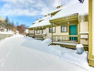 Beautiful mtn home w/ seasonal shared pool & private sauna - near slopes!