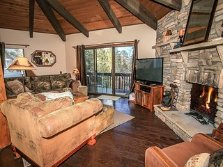 Pine Top Retreat~Foosball~Huge Flat Screens~Fully Furnished~Fireplace~Secluded~, Sugarloaf