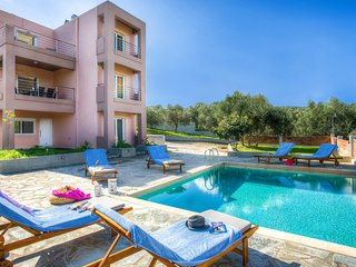 Mime Luxury Villa, Just 400m From Almyrida Beach, Chania