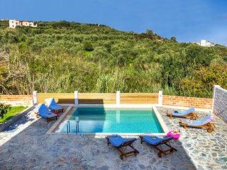 Mime Luxury Villa, Just 400m From Almyrida Beach, Chania