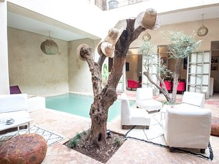 Spacious Riad with Pool in the Heart of the Medina, Marrakech