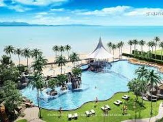 Uw eigen zwembad Villa in een 5 * beach resort