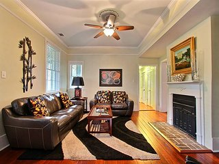 "Rest Well with Southern Belle Vacation Rentals at ""Forsyth Park Garden"""